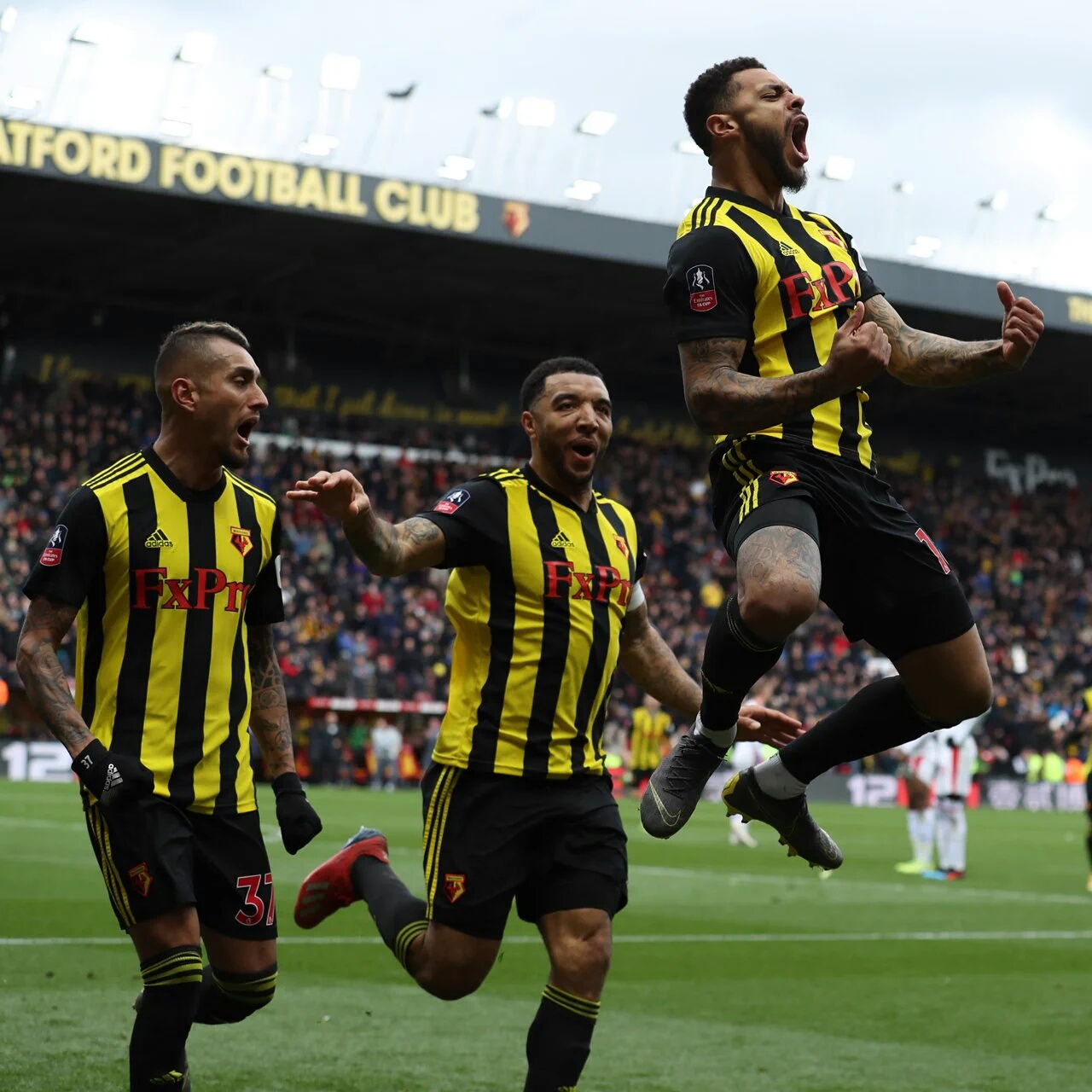 Emirates FA Cup: Success Benched As Watford Beat Palace To Book Semi-Final Spot