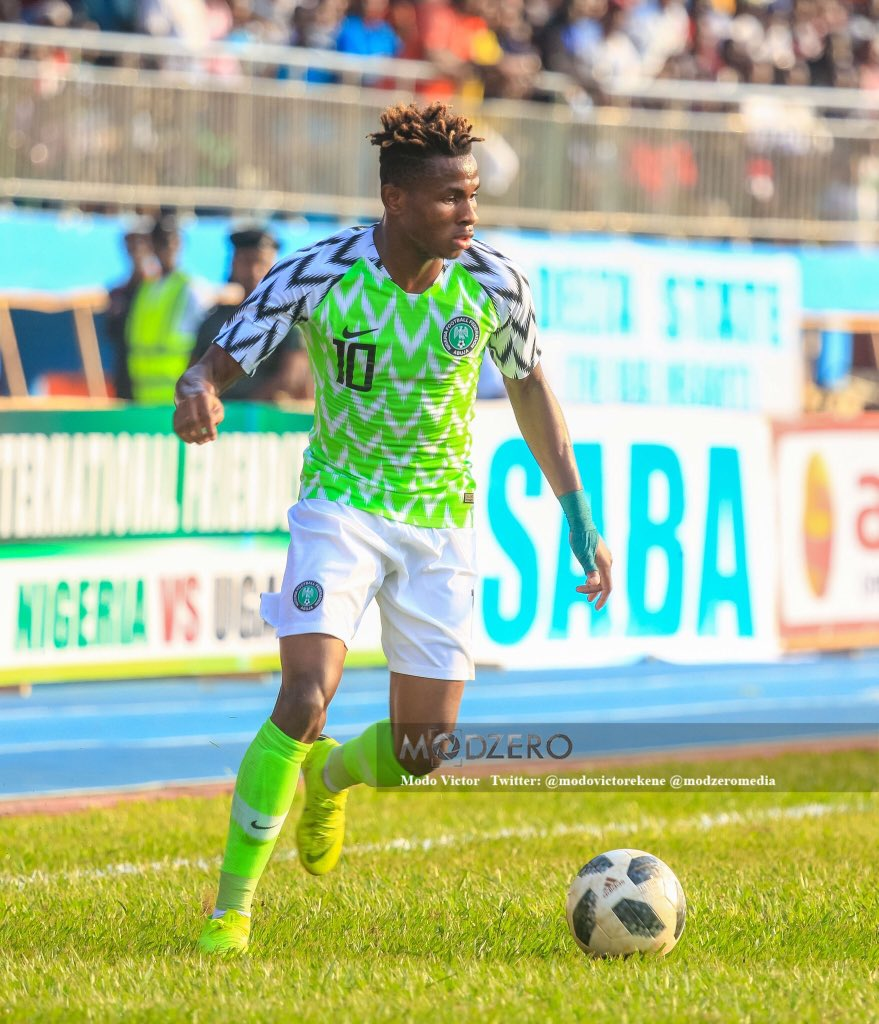 Rohr: We'll Resolve Dilemma On Chukwueze For AFCON Or U-20 World Cup Duty