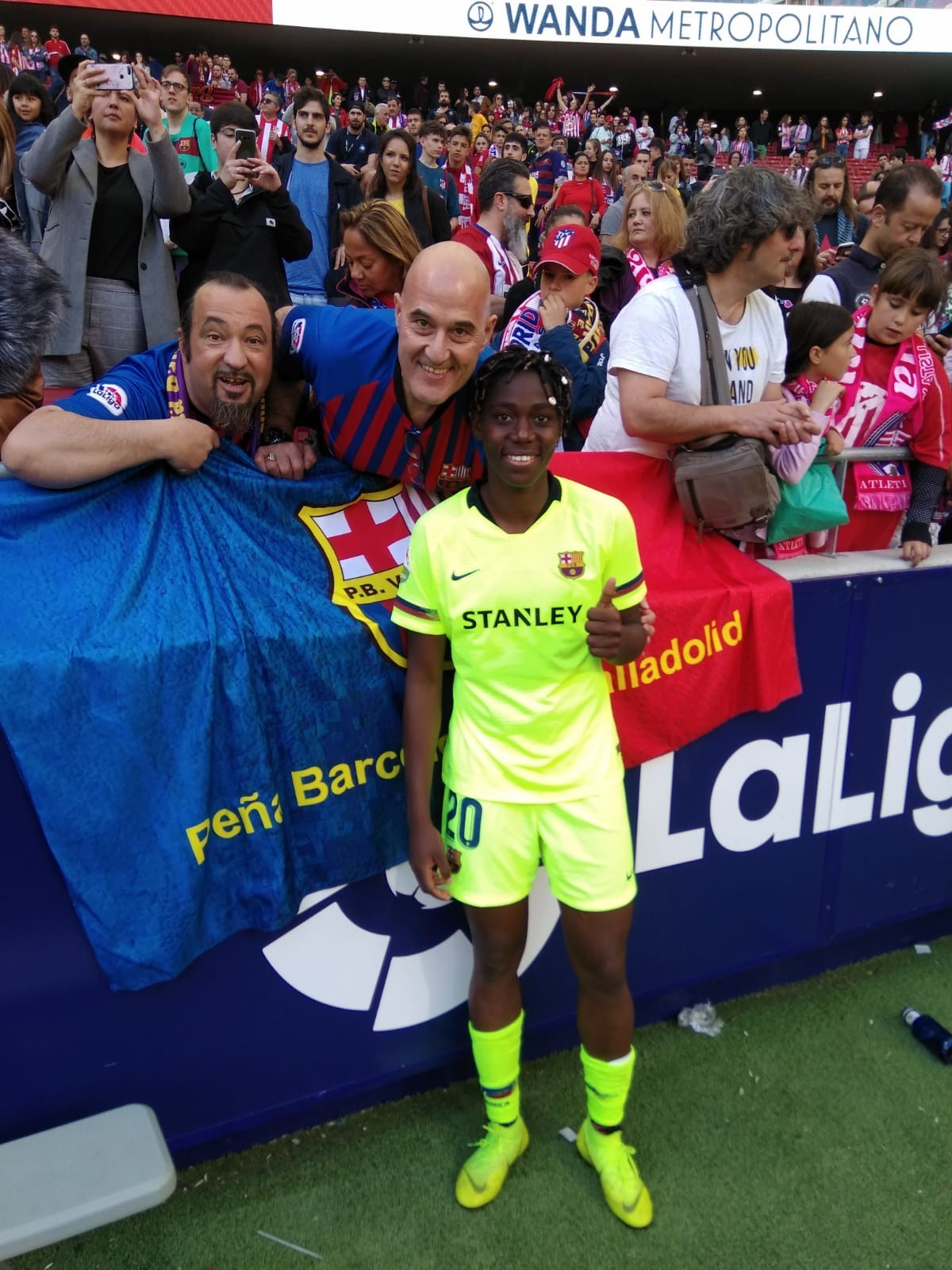 Oshoala Seeks Women's UCL Final History With Barcelona Ladies