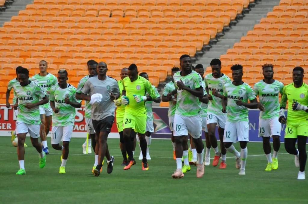 Full House In Asaba As Super Eagles Begin Preparation For Seychelles,  Egypt Games