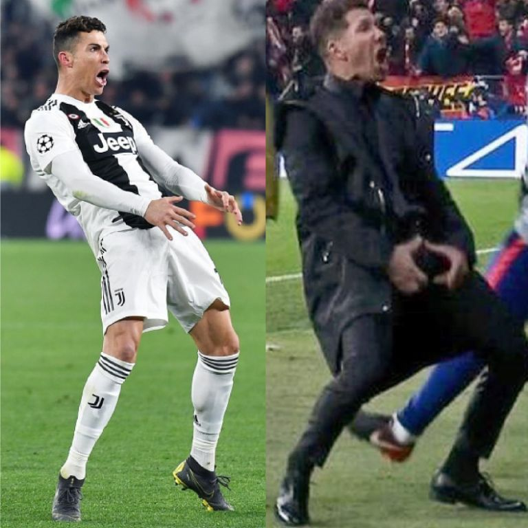 UEFA Fines Ronaldo £17,700 For Mimicking Simeone's Crotch-Grabbing Goal Celebration