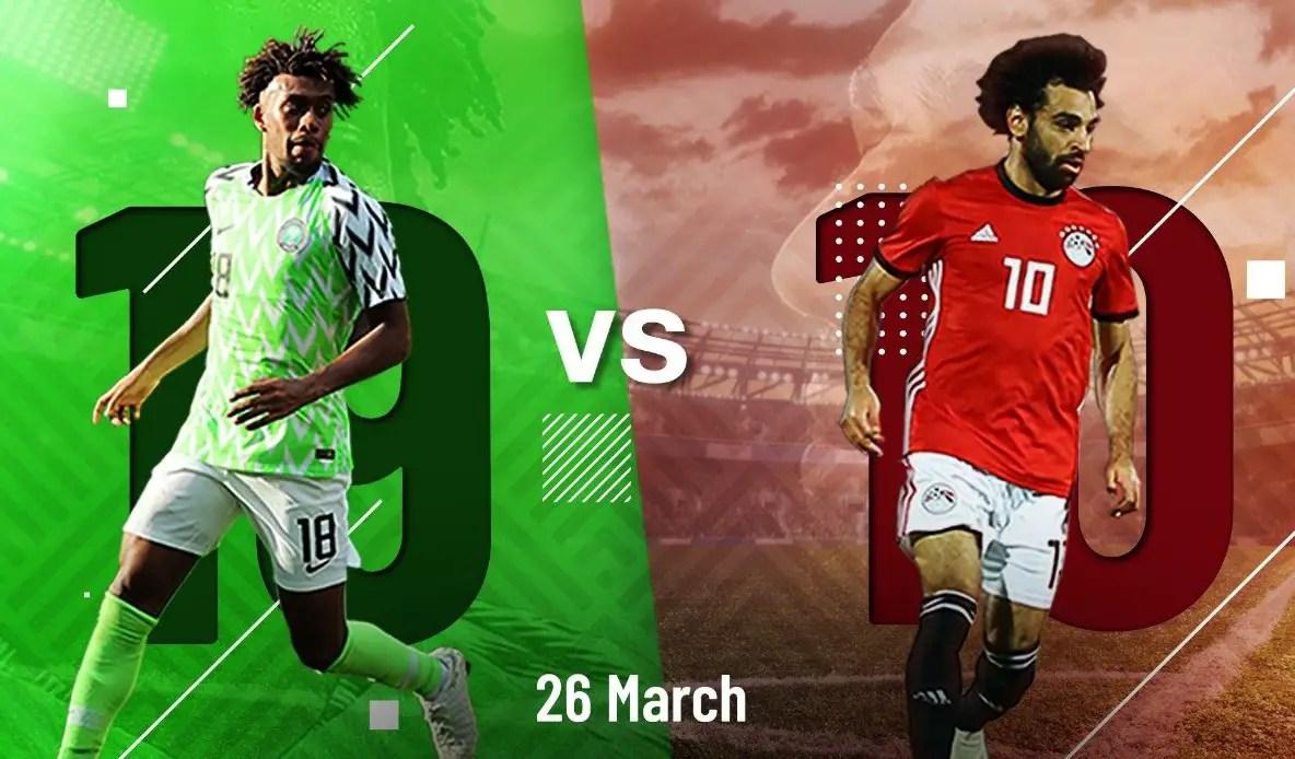 Nigeria vs Egypt, Brazil vs Czech Republic Friendlies Live on GOtv