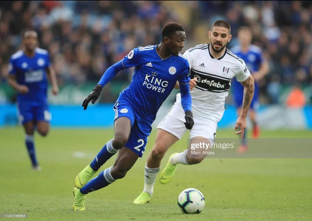 Ndidi: Leicester City Players Getting Better Under Rodgers