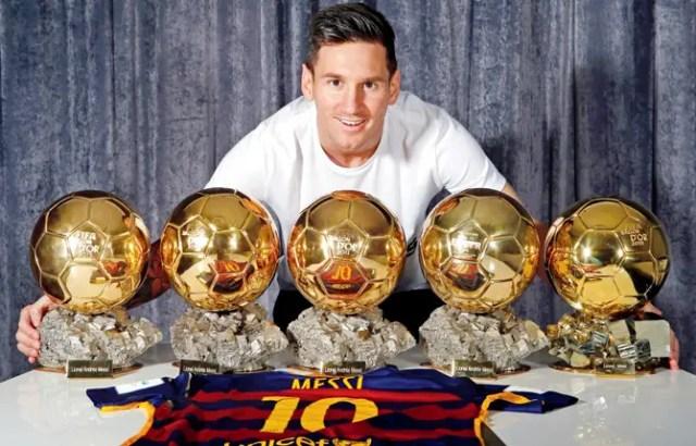 All-time Ballon d'Or Winners