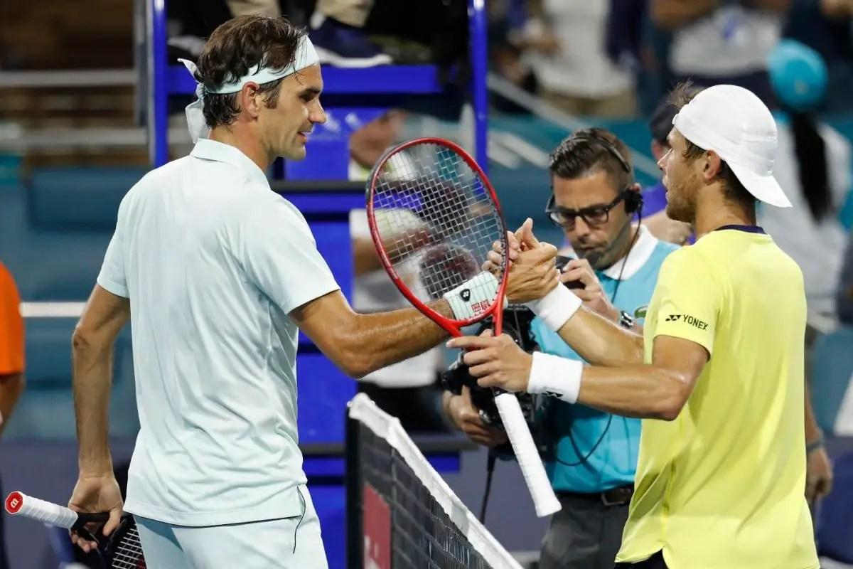 Albot Enjoyed Federer Challenge