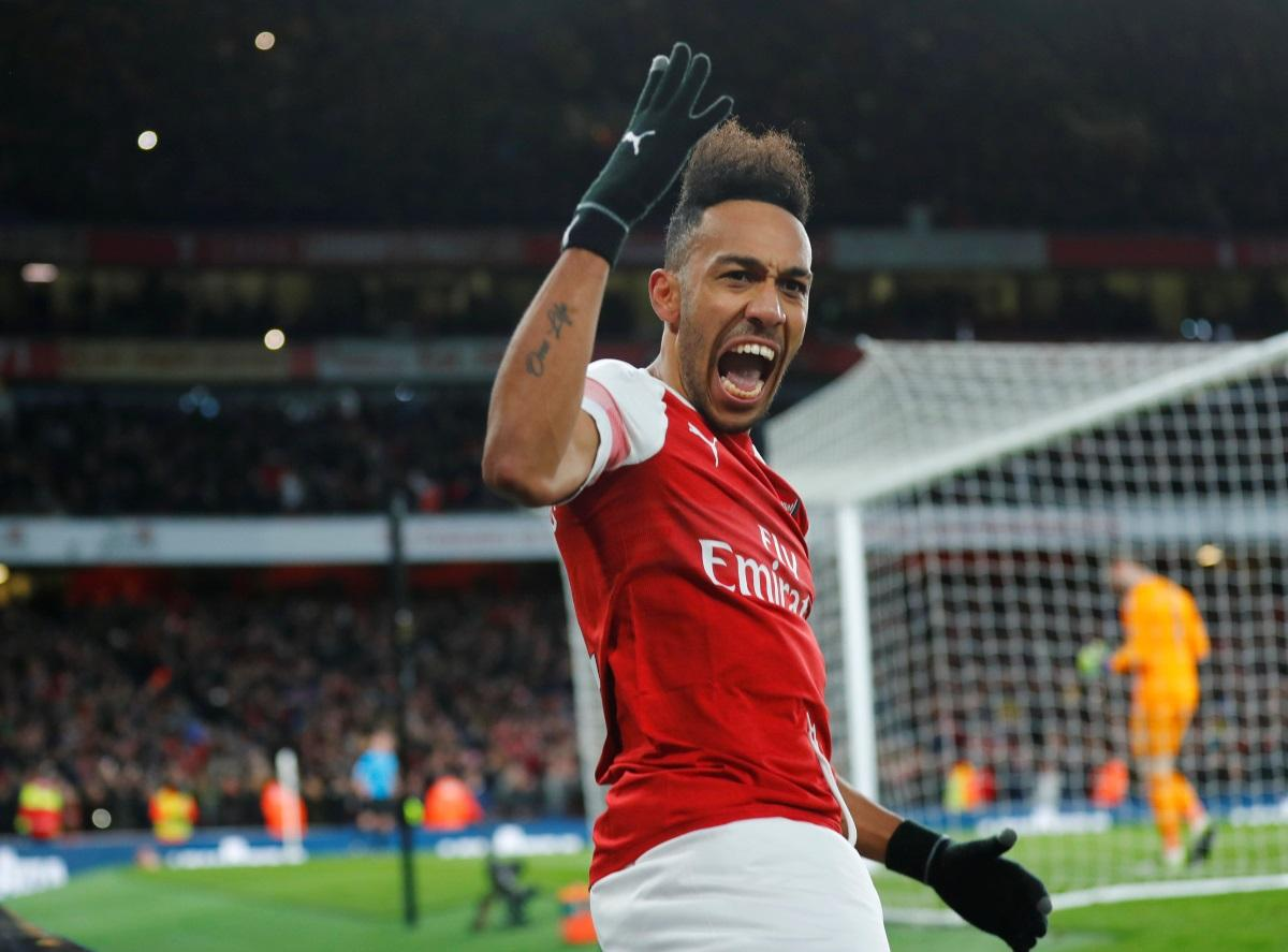 Aubameyang Confident Of Top-Four Finish