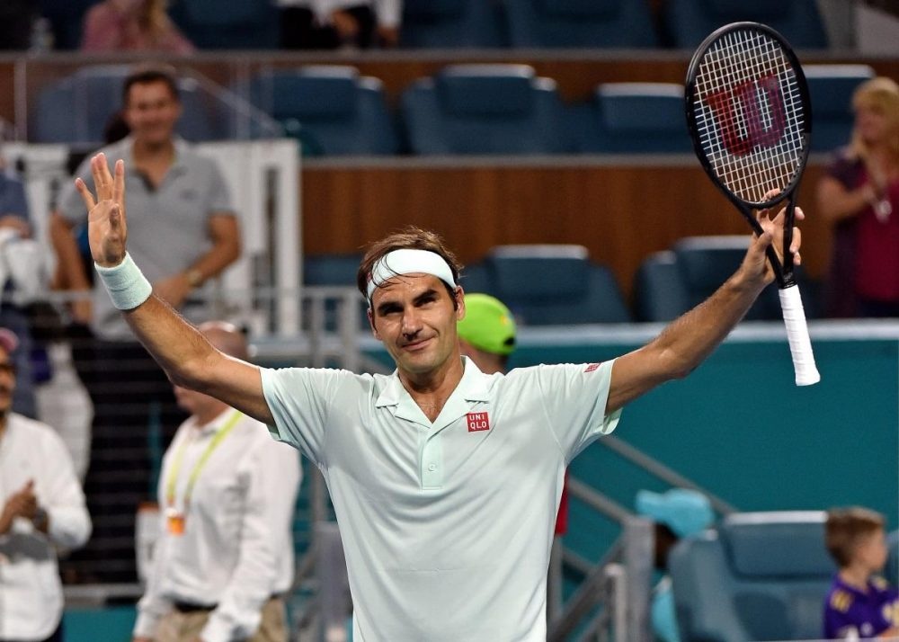 Federer Eases To Miami Open Title