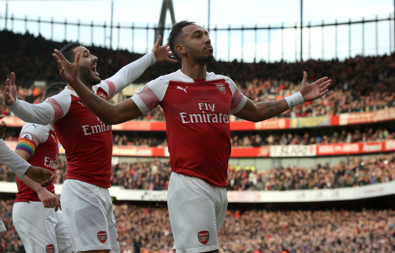 Gunners Hungry For CL Spot – Aubameyang