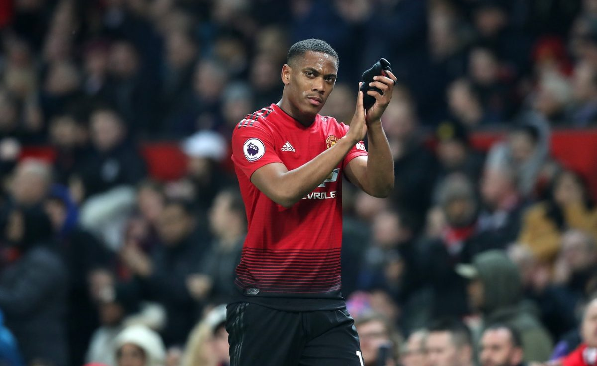 Martial Worry For United