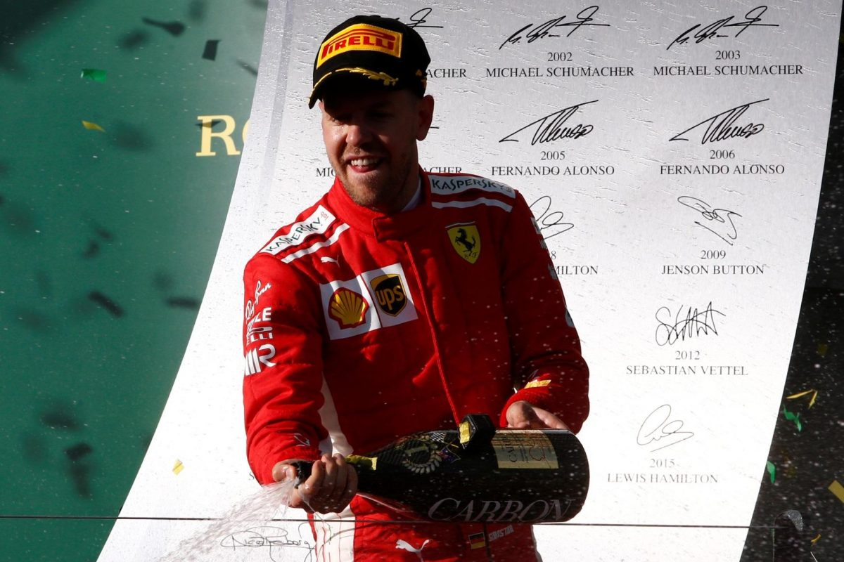 Melbourne Perfect For Vettel