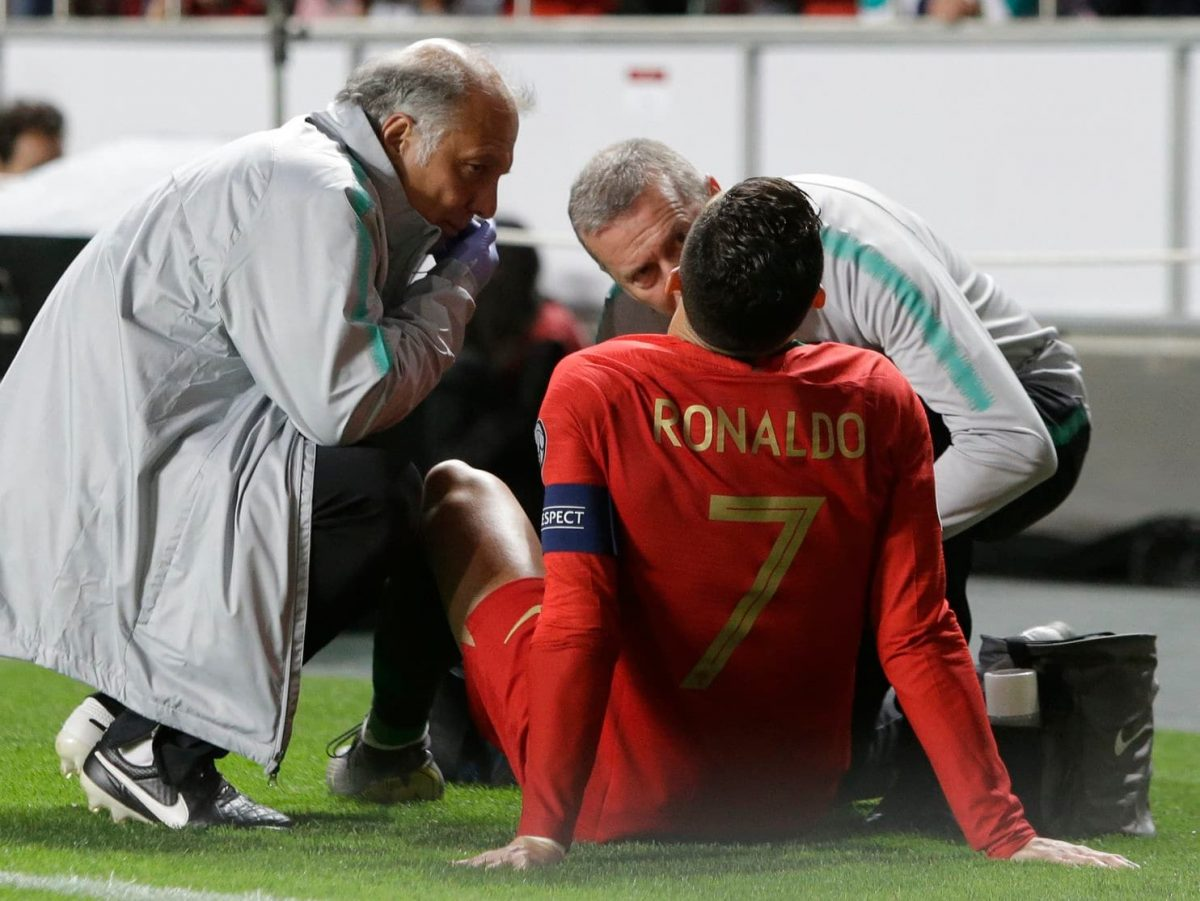 Ronaldo Facing Two Weeks Out