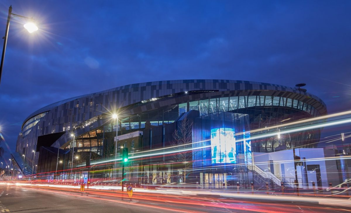 Spurs To Face Eagles At New Stadium