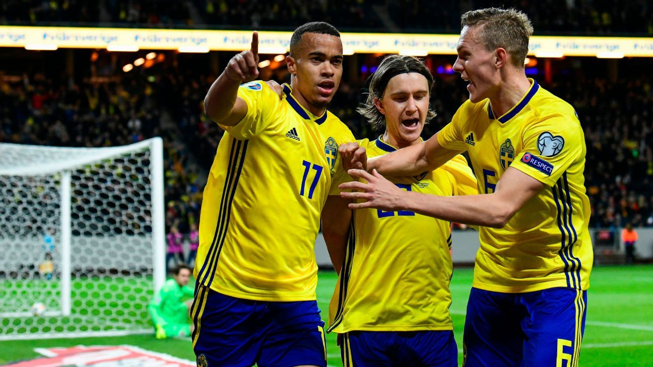Euro 2020 Qualifying: Sweden Look To Maintain 100 Per Cent Start Away To Norway