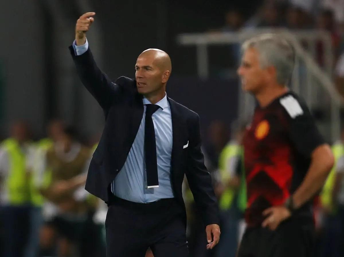 Mourinho- ZZ 'fantastic' For Real