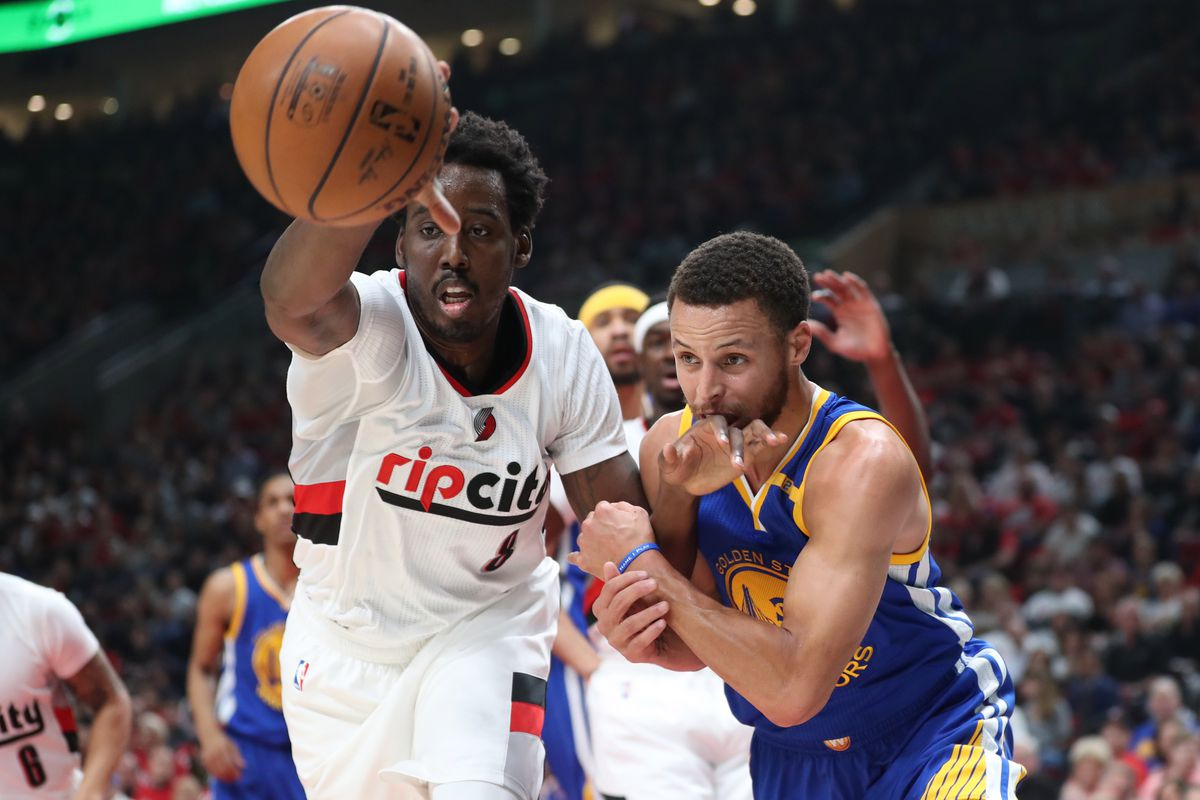 NBA: Aminu Shines As Portland Trail Blazers Beat OKC Thunder In Game 4
