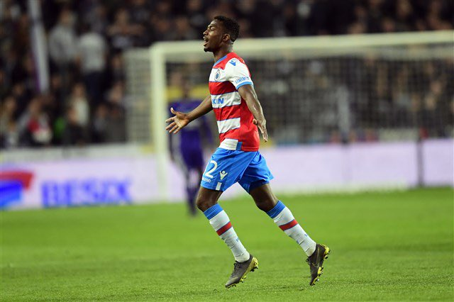 Dennis Dedicates Goal For Club Brugge Vs Anderlecht To Parents