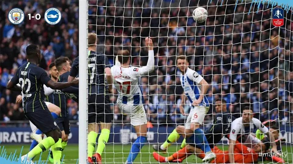 Emirates FA Cup: Balogun Absent As Man City Edge Brighton To Book Final Spot