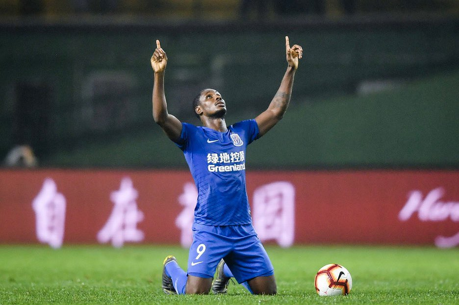 CSL: Ighalo Scores 6th Goal of Season As Shenhua Bag Away Draw