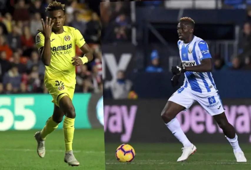NO BROS IN THE JUNGLE! Chukwueze, Omeruo Clash In La Liga Today