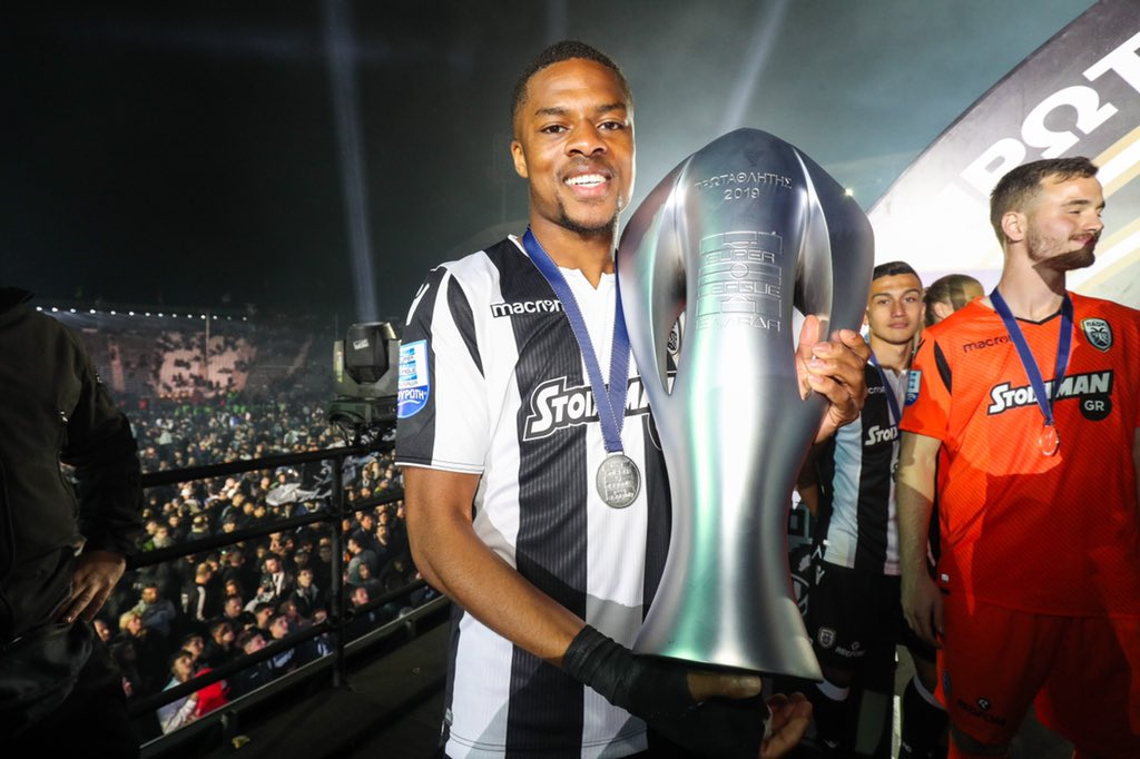 Akpom Thrilled To Win Greek League Title With PAOK