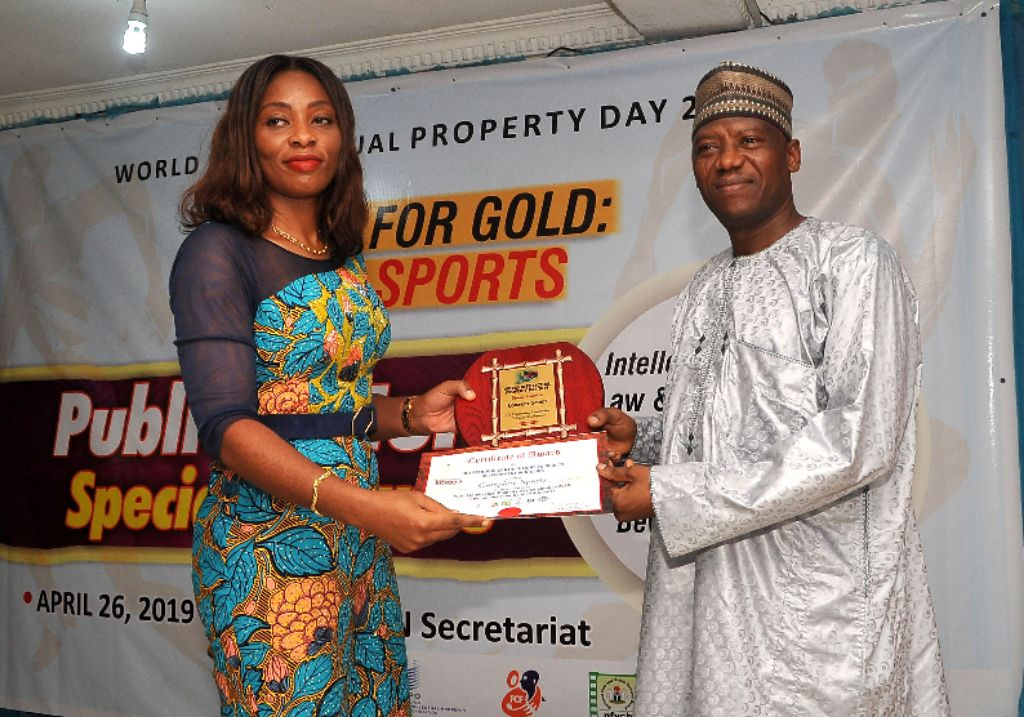 Complete Sports Bags WIPO Award For Sports Promotion, Entertainment