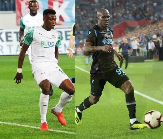 Shehu, Nwakaeme Clash In Turkey As Bursaspor Host Trabzonspor Tonight