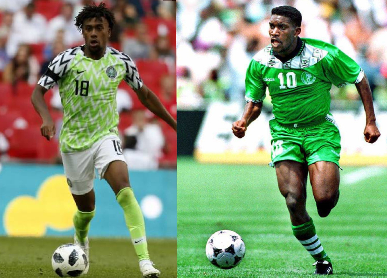 Iwobi Hopes To Emulate Okocha By Winning AFCON Title In First Attempt