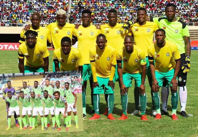 Zimbabwean FA Plans Super Eagles Friendly Ahead AFCON 2019