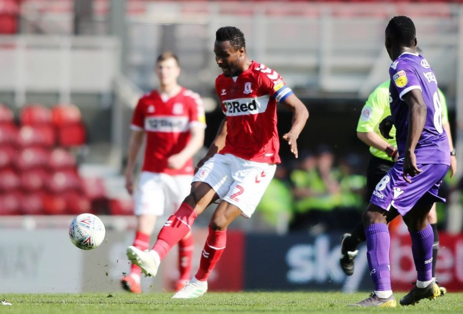 Championship: Captain Mikel Stars In Boro Win Over Etebo's Stoke City; Ajayi Loses With Rotherham