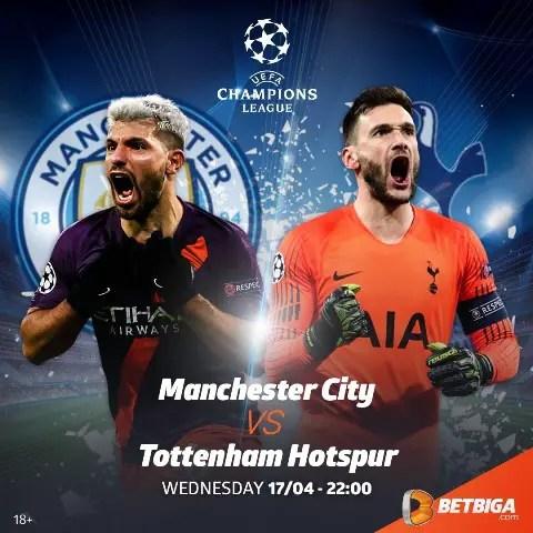 UCL Preview: Manchester City Vs Tottenham