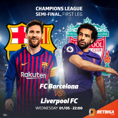 UCL Preview: Barcelona VS Liverpool