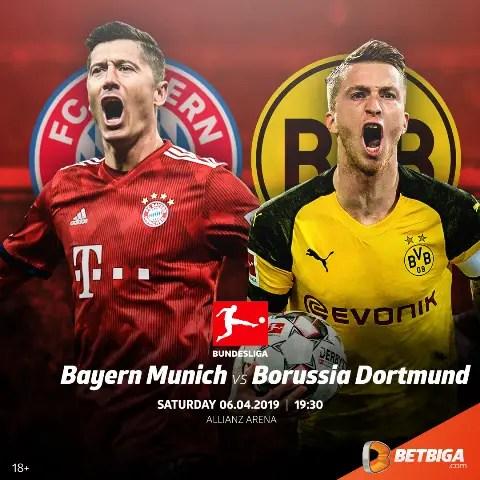 Bayern Vs Dortmund: German Classico Takes Centre Stage At Allianz Arena