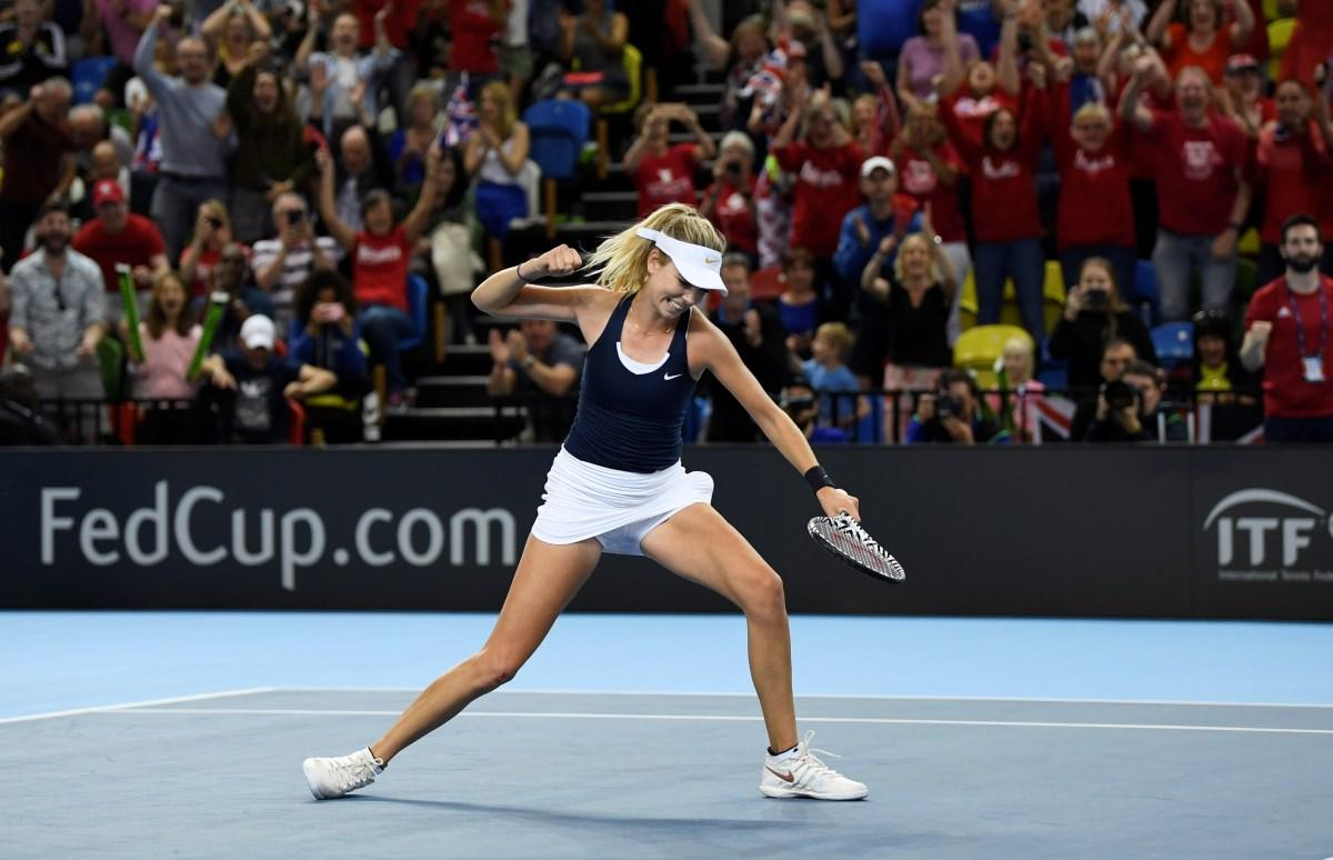 Great Britain Secure Fed Cup Promotion