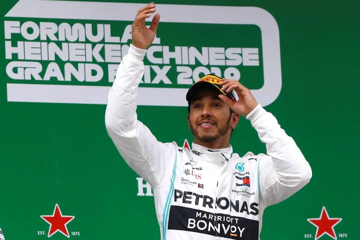 Hamilton Claims Comfortable Win In China