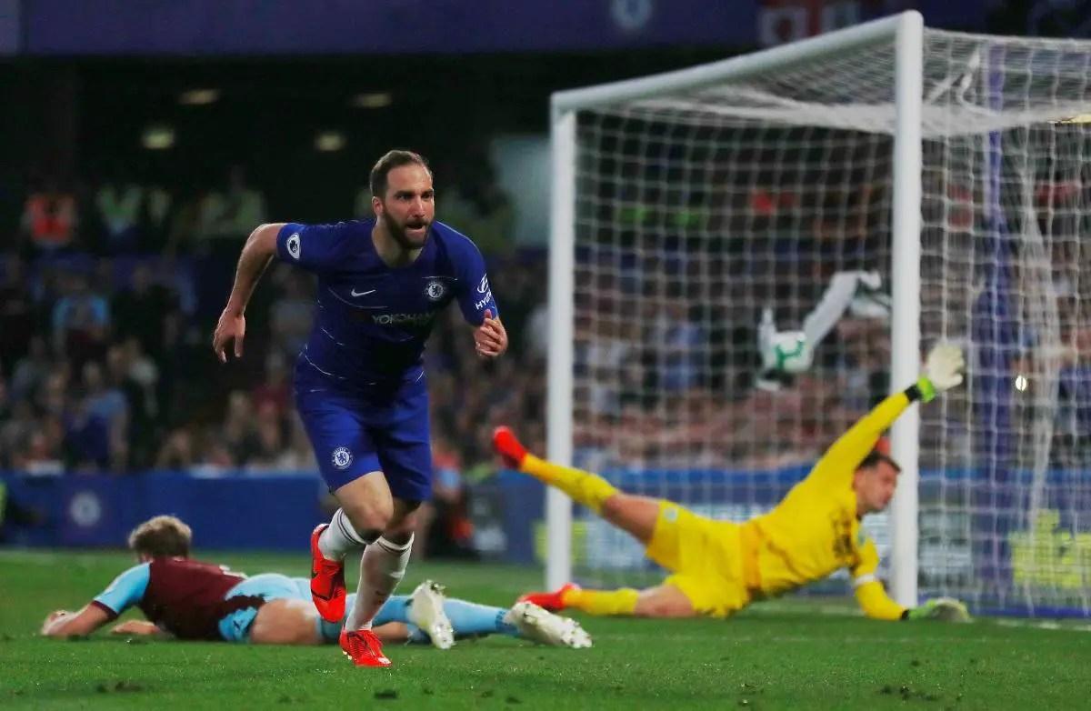 Higuain Set For Chelsea Exit