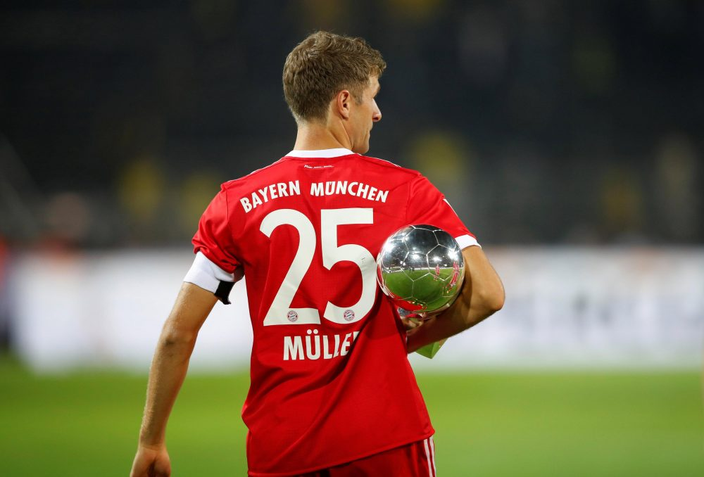 Muller Has Double In Sights