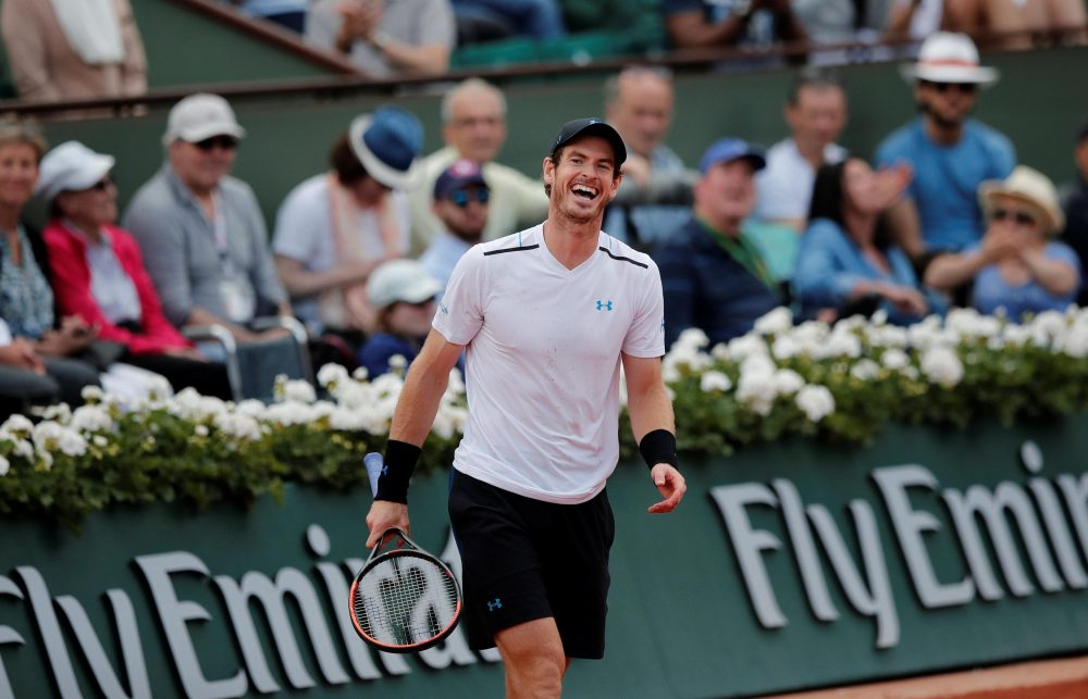Murray Takes First Steps Back On Court