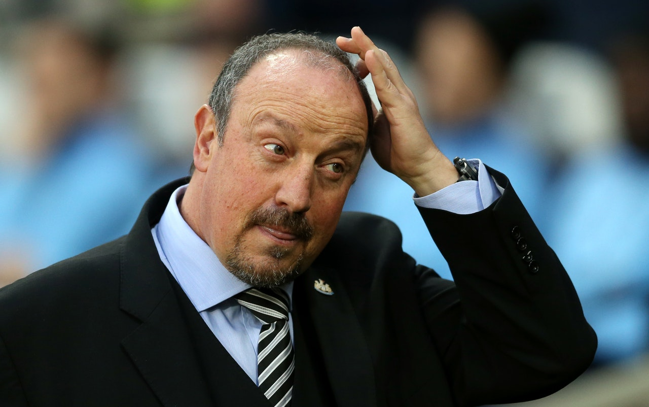 Benitez proud as Toon slip to defeat