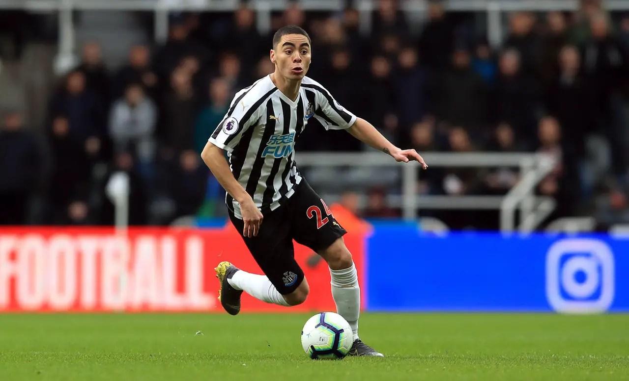 Benitez Takes Pressure Off Almiron