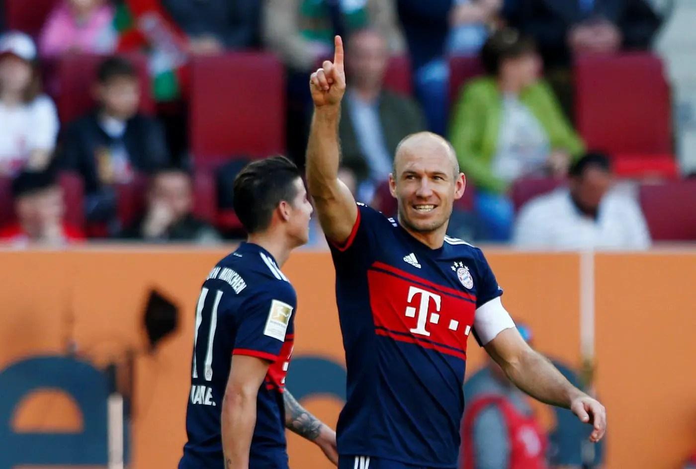 Robben Desperate For Bayern Return