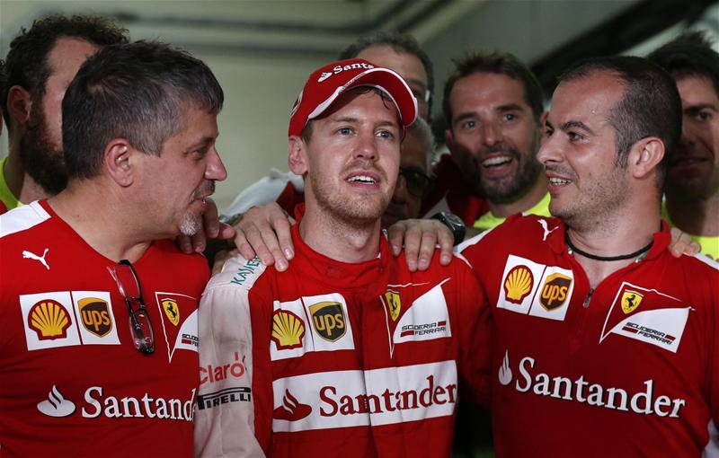 Vettel Coy On F1 Future