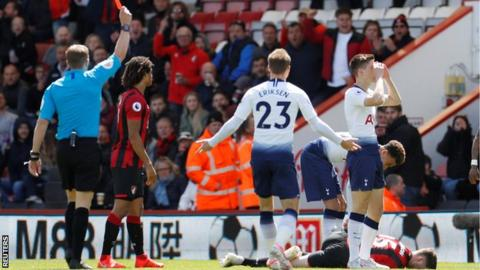 Tottenham Lose 1-0 At Bournemouth As West Ham, Wolves Record Win