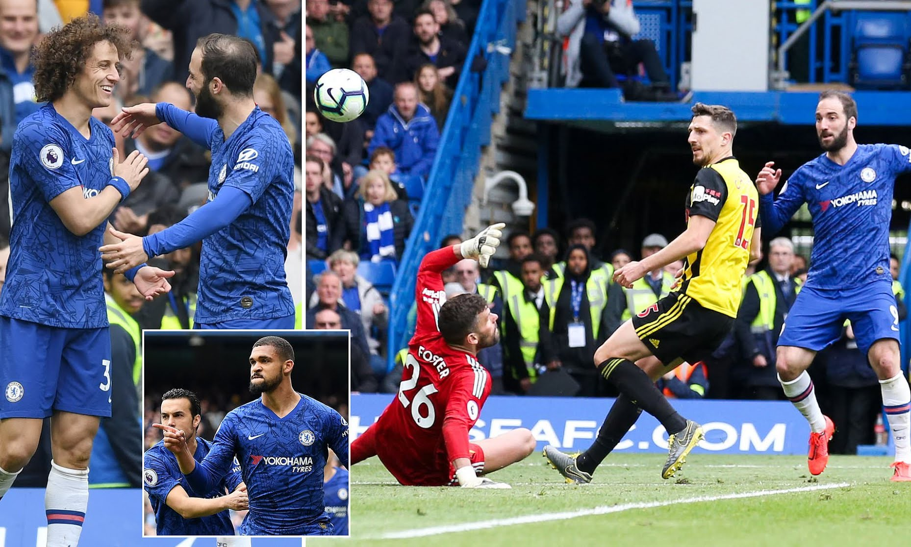Success Makes 20th Sub Appearance In Watford's Loss To Chelsea