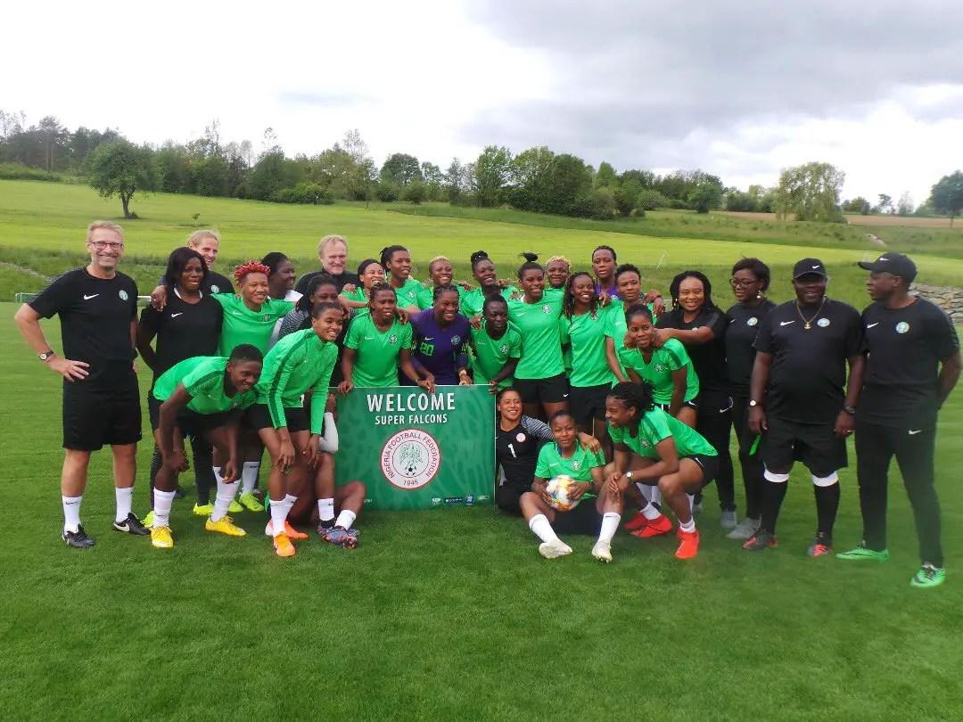 Super Falcons Thrash Haladas Viktoria 5-1, Raring To Go At France  2019