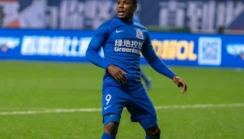 Ighalo Hits Goal No.7  As Shanghai Shenhua Suffer Defeat