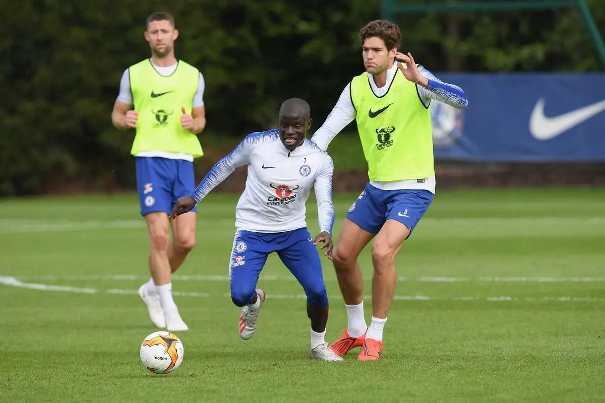 Kante Resumes Training Ahead Chelsea – Arsenal Europa League Final Clash