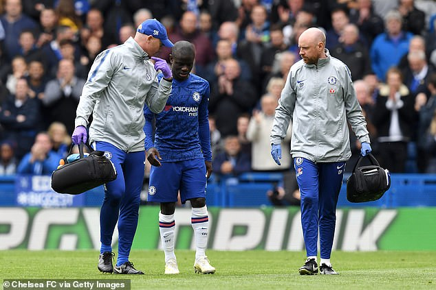 Kante Hopes To Regain Full Fitness, Eyes Chelsea  Europa League Final