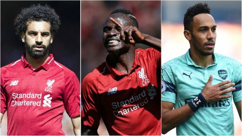 EPL Golden Boot: Salah, Mane and Aubameyang Share Prize
