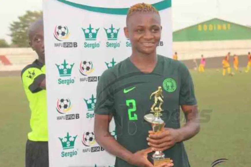 Women's WAFU Cup: Kanu  Delights In WOTM Award In Falcons Win Vs Burkina Faso