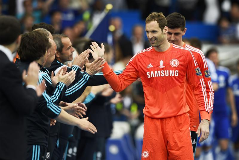 Cech Cools Chelsea Return Talk